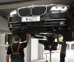 Naprawa samochodów marki BMW