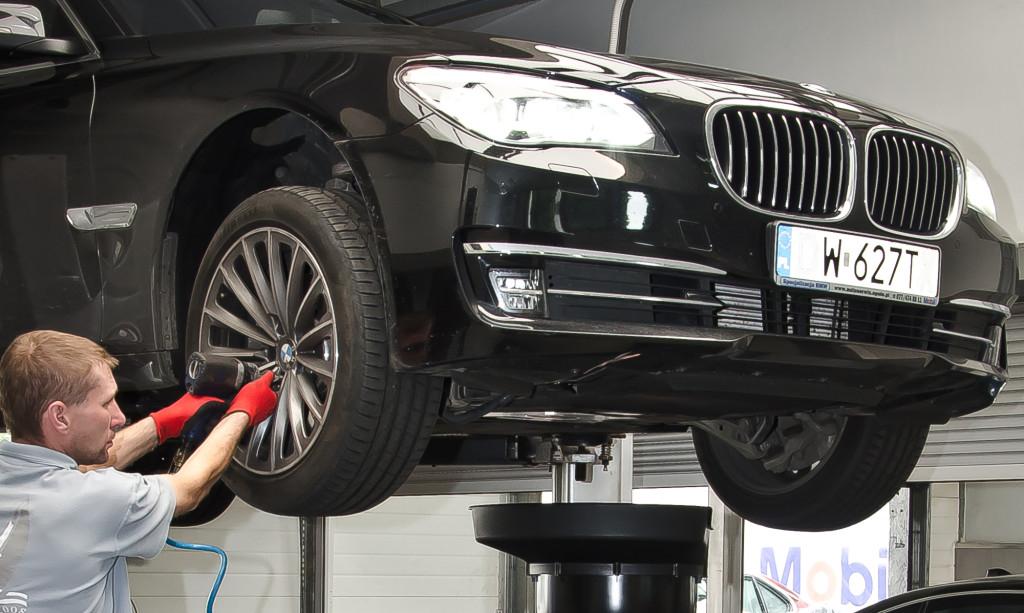 Elektronika pojazdów marki BMW
